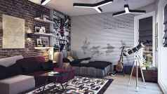 Cool sport bedroom ideas for boys (4)