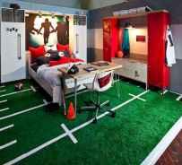 Cool sport bedroom ideas for boys (8)