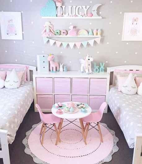 Cute decor bedroom for girls (21)