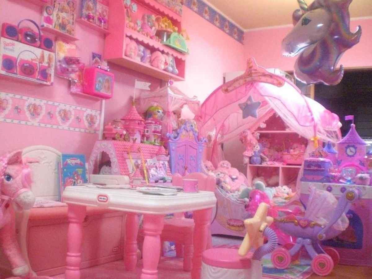 Cute decor bedroom for girls (30)