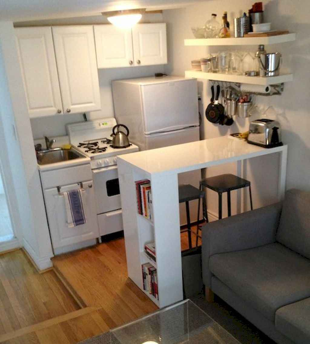Easy apartement kitchen decorating ideas (24)