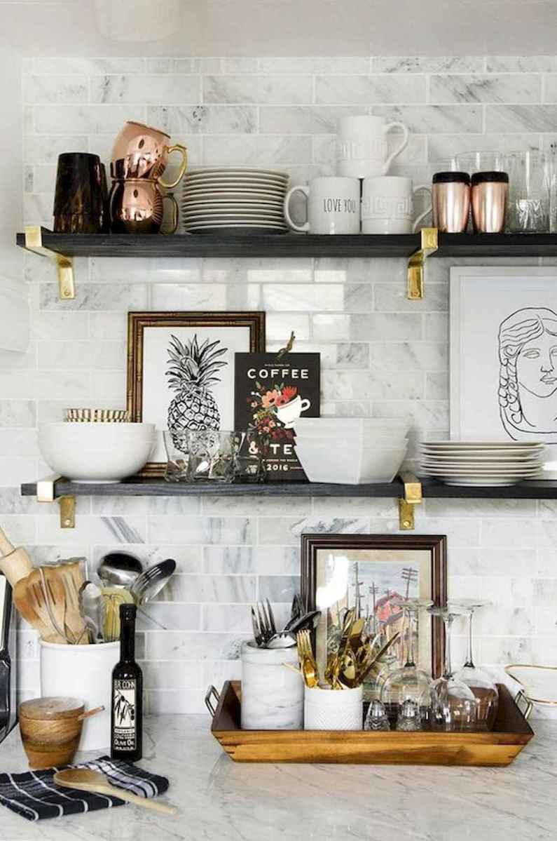 Easy apartment kitchen decorating ideas (19)