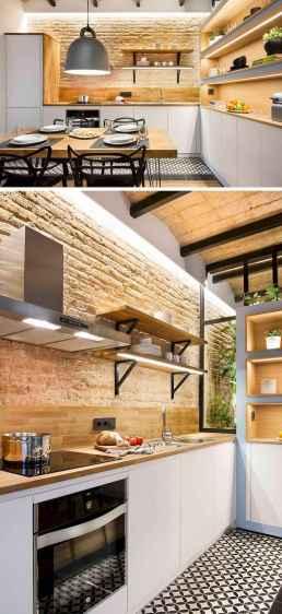 Easy apartment kitchen decorating ideas (49)