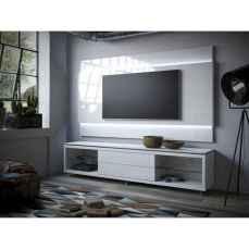 Inspired tv wall living room ideas (8)