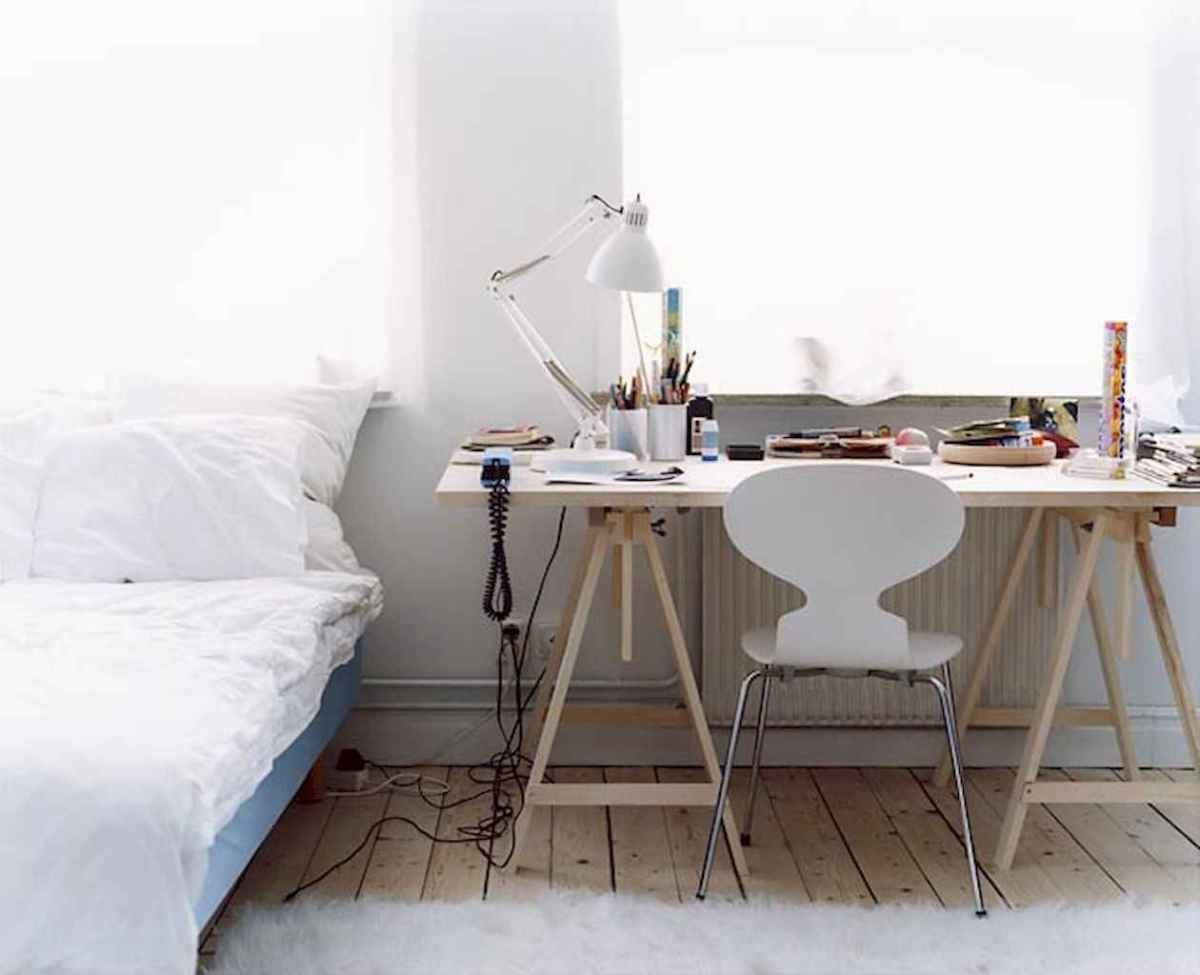 Smart solution for your workspace bedroom ideas (37)