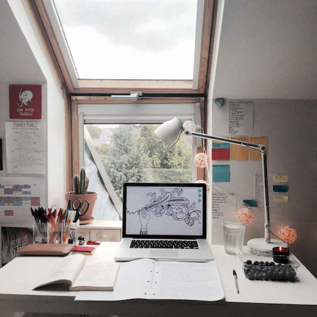 Smart solution for your workspace bedroom ideas (44)