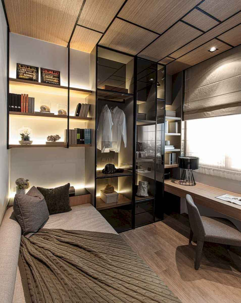 Smart solution for your workspace bedroom ideas (53)
