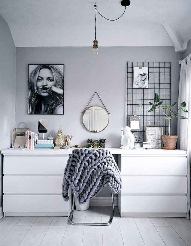 Smart solution for your workspace bedroom ideas (60)