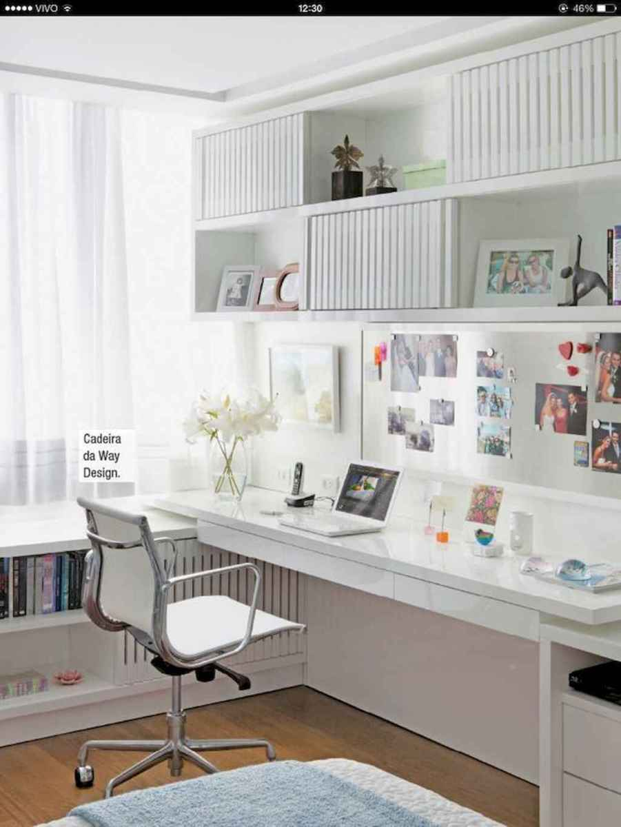 Smart solution for your workspace bedroom ideas (8)