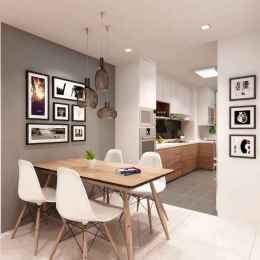 20 small and clean first apartment dining room ideas (1)