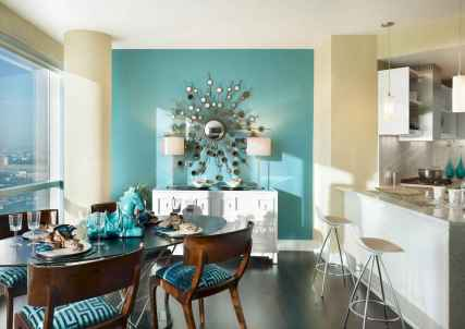 20 small and clean first apartment dining room ideas (18)