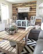 25 modern farmhouse living room first apartment ideas (13)