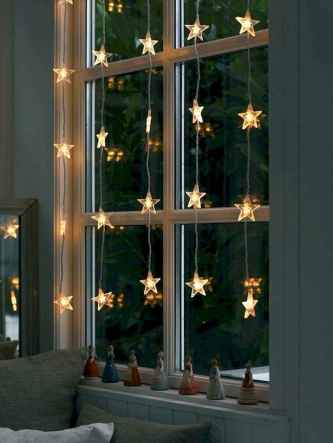30+ diy apartment decorating christmas lights (13)