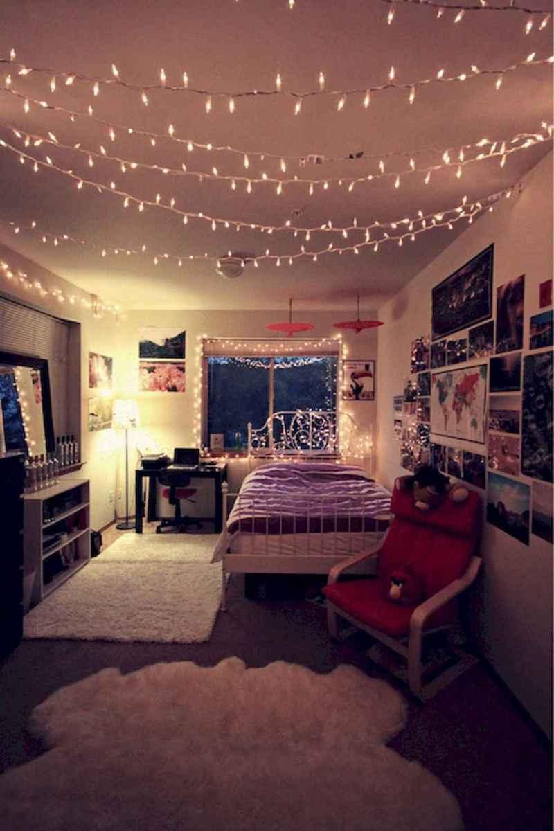 30+ diy apartment decorating christmas lights (15)