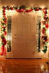 30+ diy apartment decorating christmas lights (16)