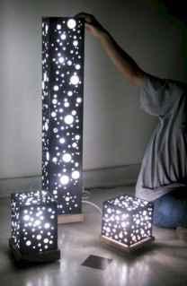 30+ diy apartment decorating christmas lights (34)