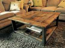 30 inspiring diy rustic coffee table ideas remodel (14)