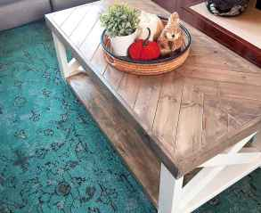 30 inspiring diy rustic coffee table ideas remodel (29)