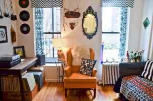 40 boho chic first apartment decor ideas (26)