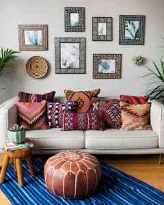 40 boho chic first apartment decor ideas (8)