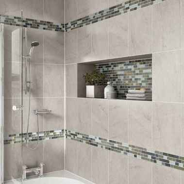 50 beautiful bathroom shower tile ideas (38)