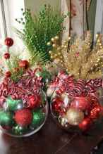 60 apartment decorating ideas for christmas (10)