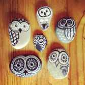 70 diy painted rock for first apartment ideas (7)