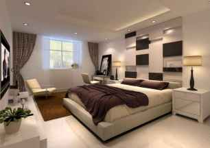 80 master bedrooms apartment decorating ideas for couple (77)