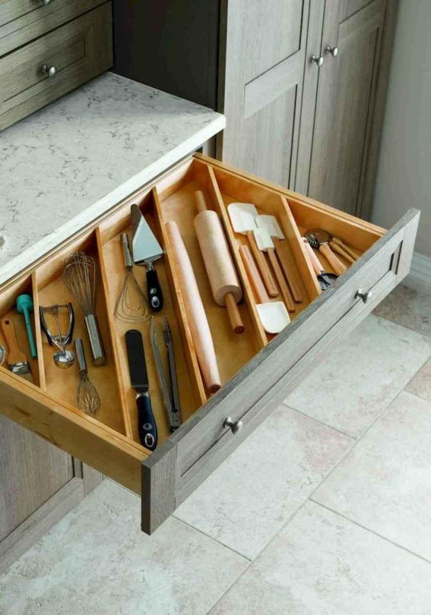 100 smart kitchen organization ideas for first apartment (50)