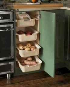 100 smart kitchen organization ideas for first apartment (67)