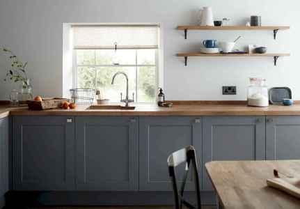 150 gorgeous farmhouse kitchen cabinets makeover ideas (12)