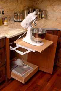 150 gorgeous farmhouse kitchen cabinets makeover ideas (31)