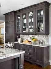 150 gorgeous farmhouse kitchen cabinets makeover ideas (49)