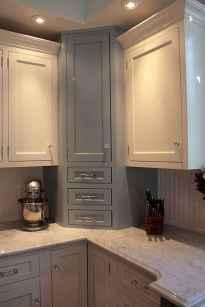 150 gorgeous farmhouse kitchen cabinets makeover ideas (81)