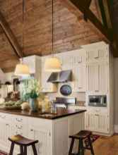 150 gorgeous farmhouse kitchen cabinets makeover ideas (90)