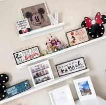 20 diy disney apartment decorations ideas (14)