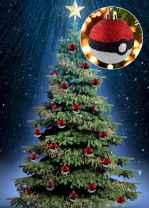 22 cute pokemon christmas tree decor ideas (12)