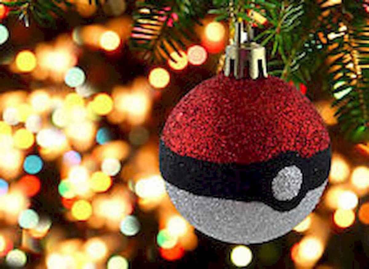 22 cute pokemon christmas tree decor ideas (17)