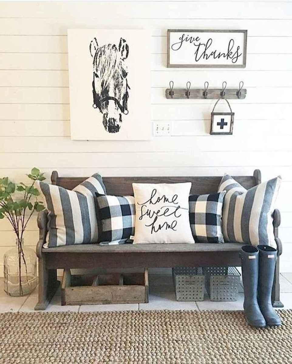30 diy modern farmhouse bench decor ideas (17)