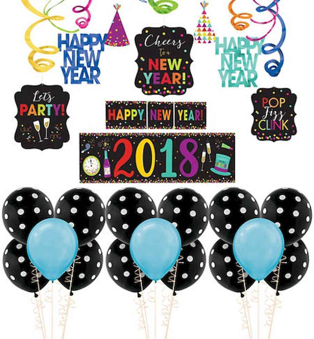 35 awesome 2018 new year party decorations ideas (9)