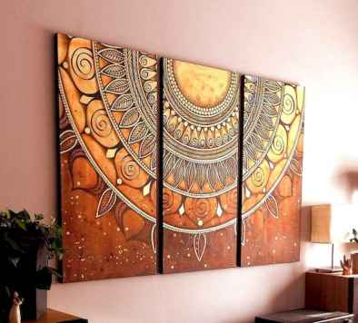 50 diy first apartment ideas on a budget with boho wall decor (18)