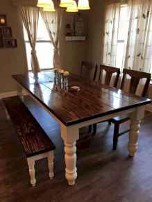 50 on a budget diy farmhouse table plans ideas (1)