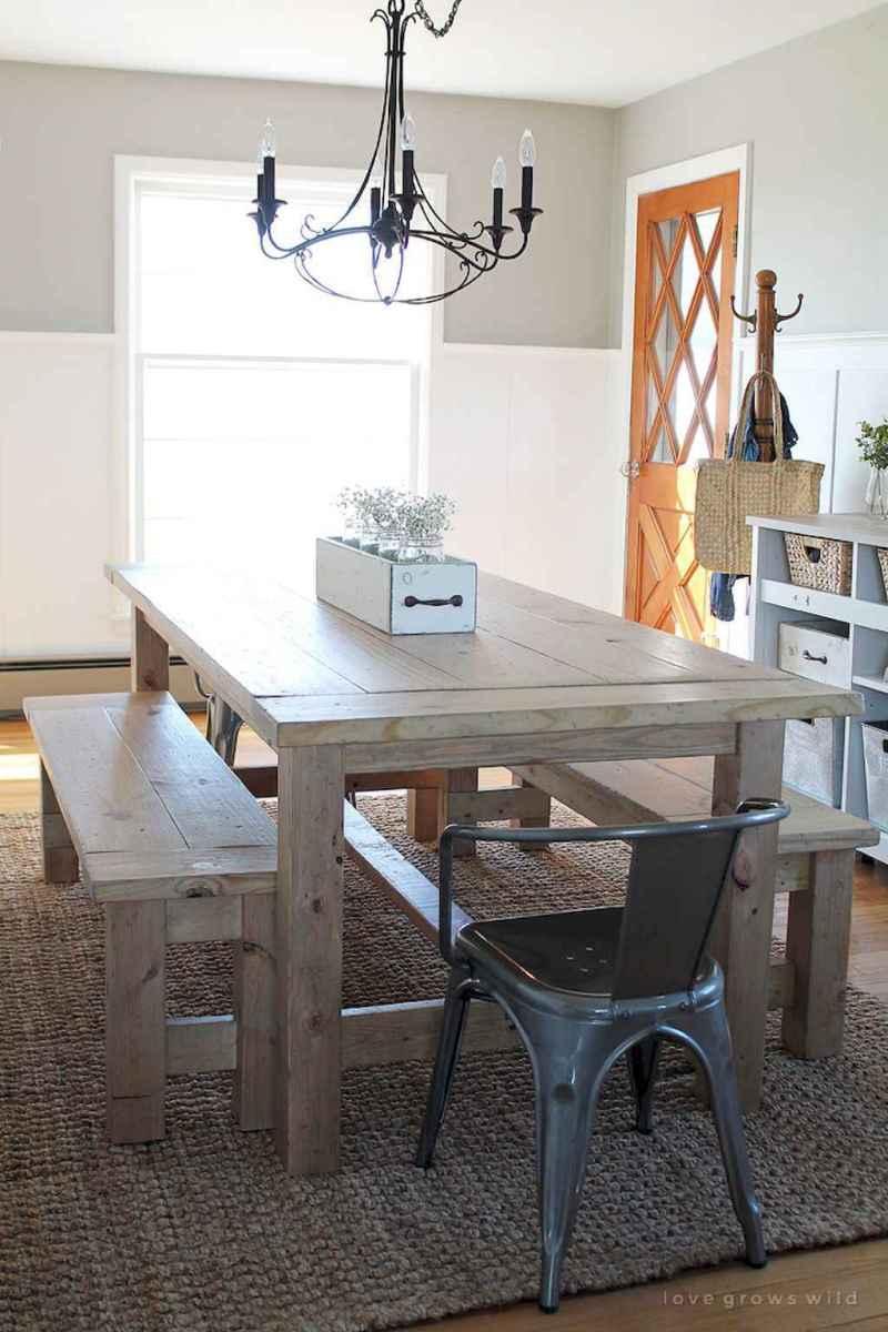 50 on a budget diy farmhouse table plans ideas (11)