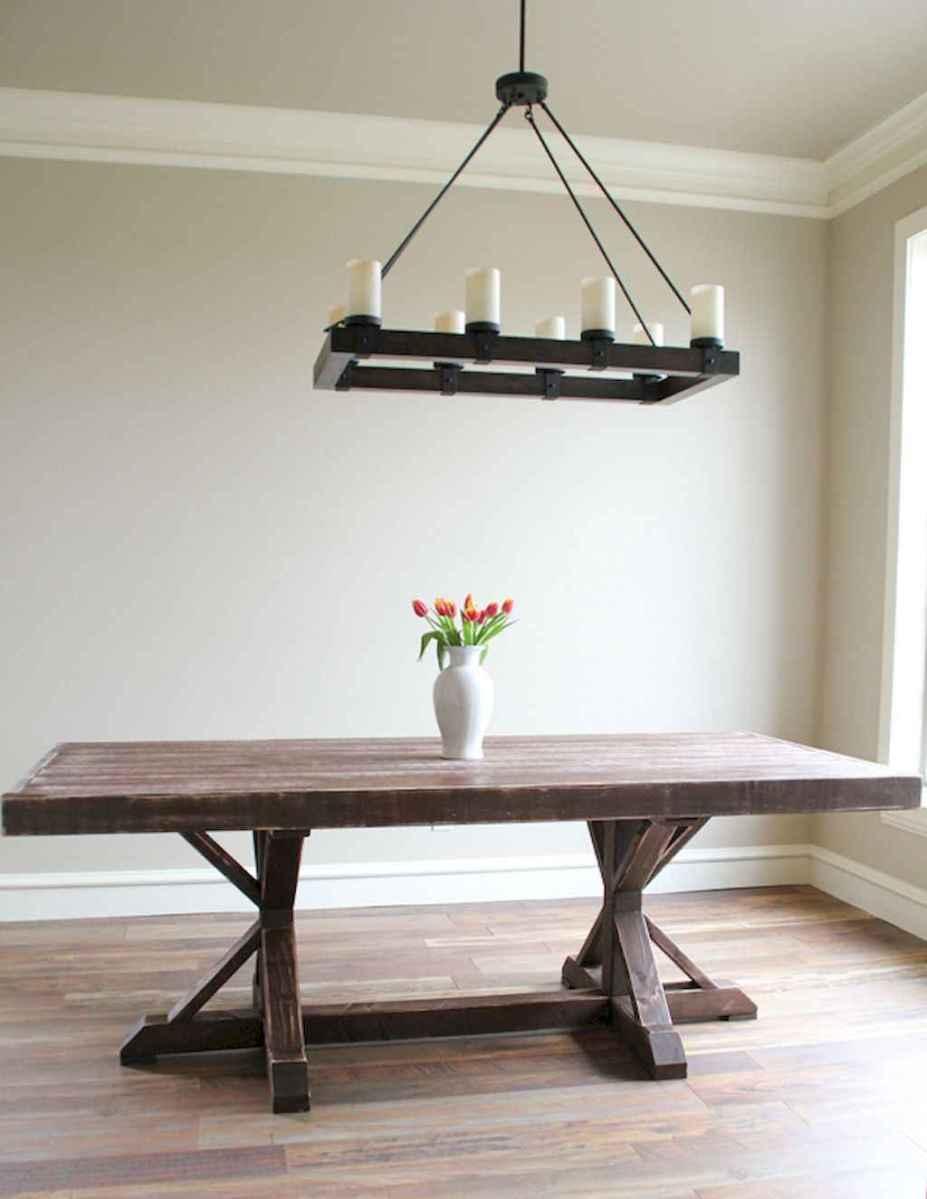 50 on a budget diy farmhouse table plans ideas (26)