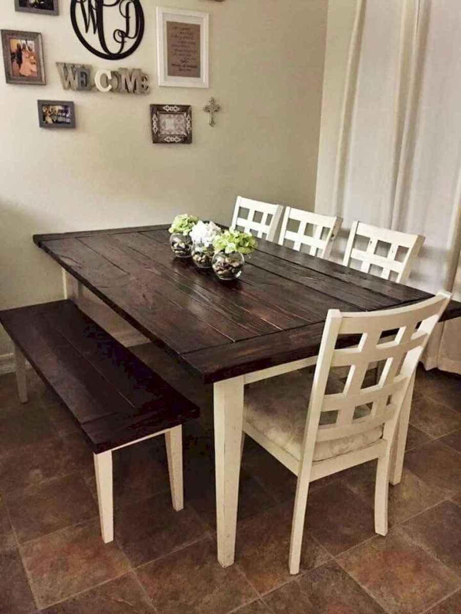 50 on a budget diy farmhouse table plans ideas (28)