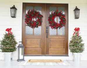 55 awesome christmas front porches decor ideas (19)