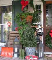 55 awesome christmas front porches decor ideas (30)