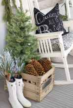 55 awesome christmas front porches decor ideas (43)