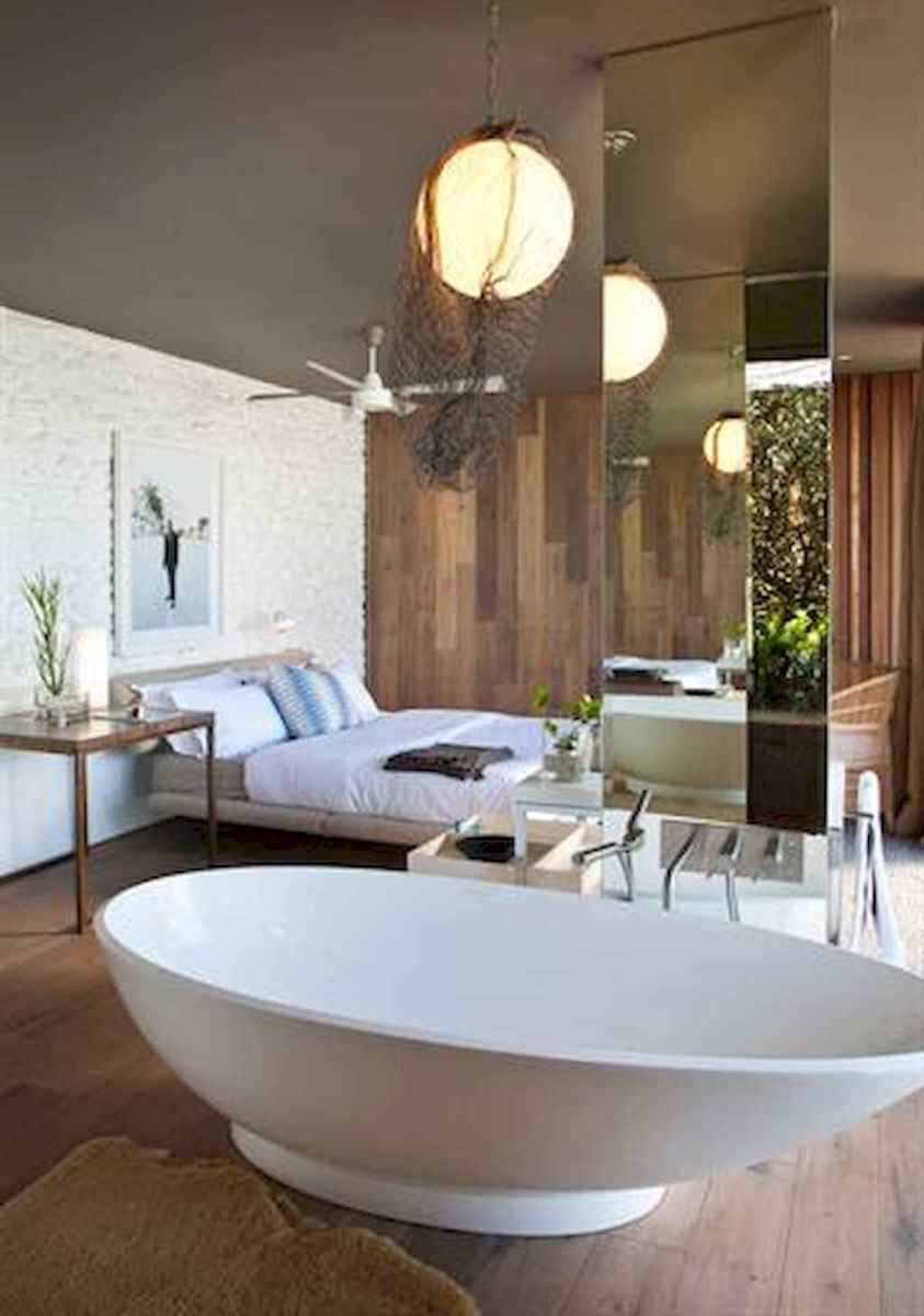 60 awesome open bathroom concept for master bedrooms decor ideas (14)