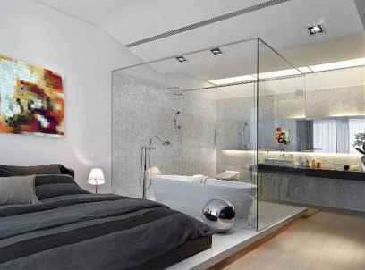 60 awesome open bathroom concept for master bedrooms decor ideas (18)